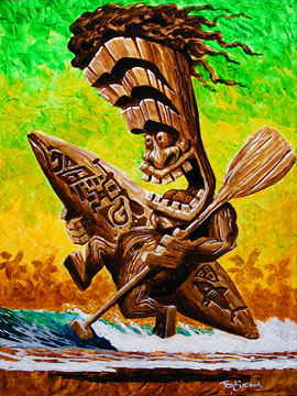 """Surf's Up Tiki"""