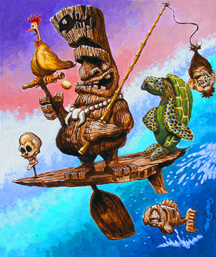 """Tiki Turtle Express"""